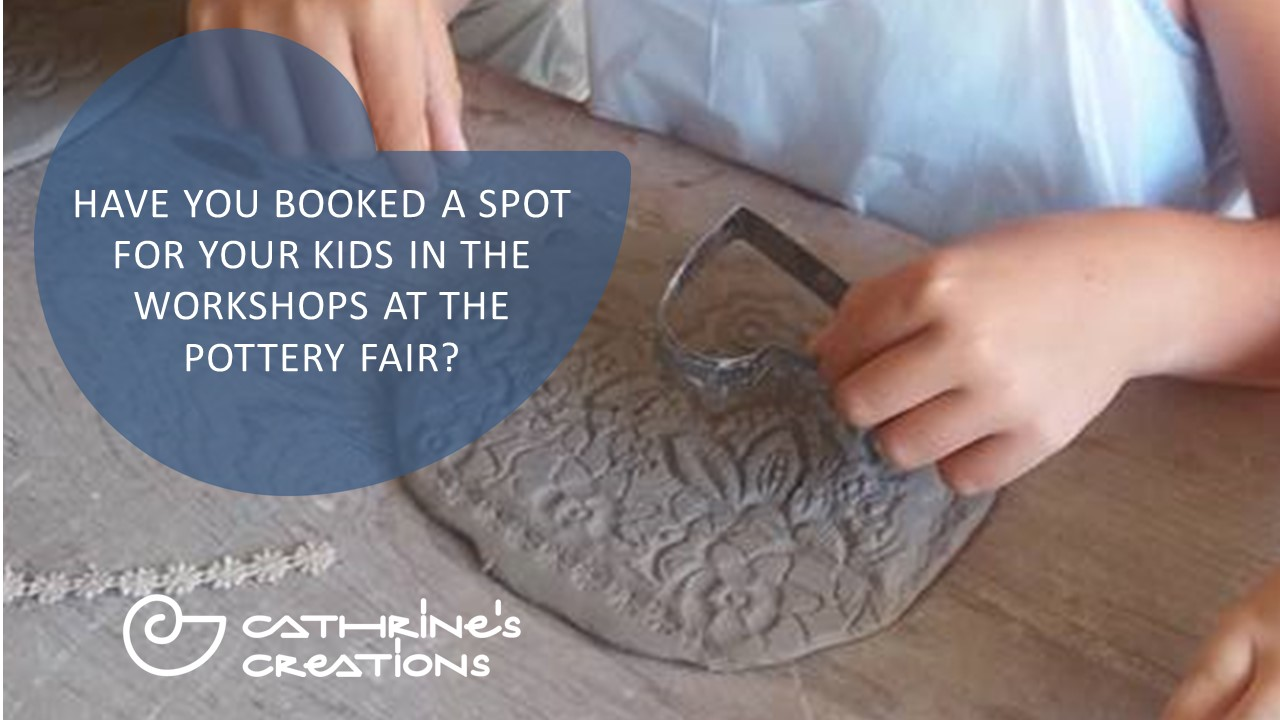 Kids Workshops at The Pottery Fair