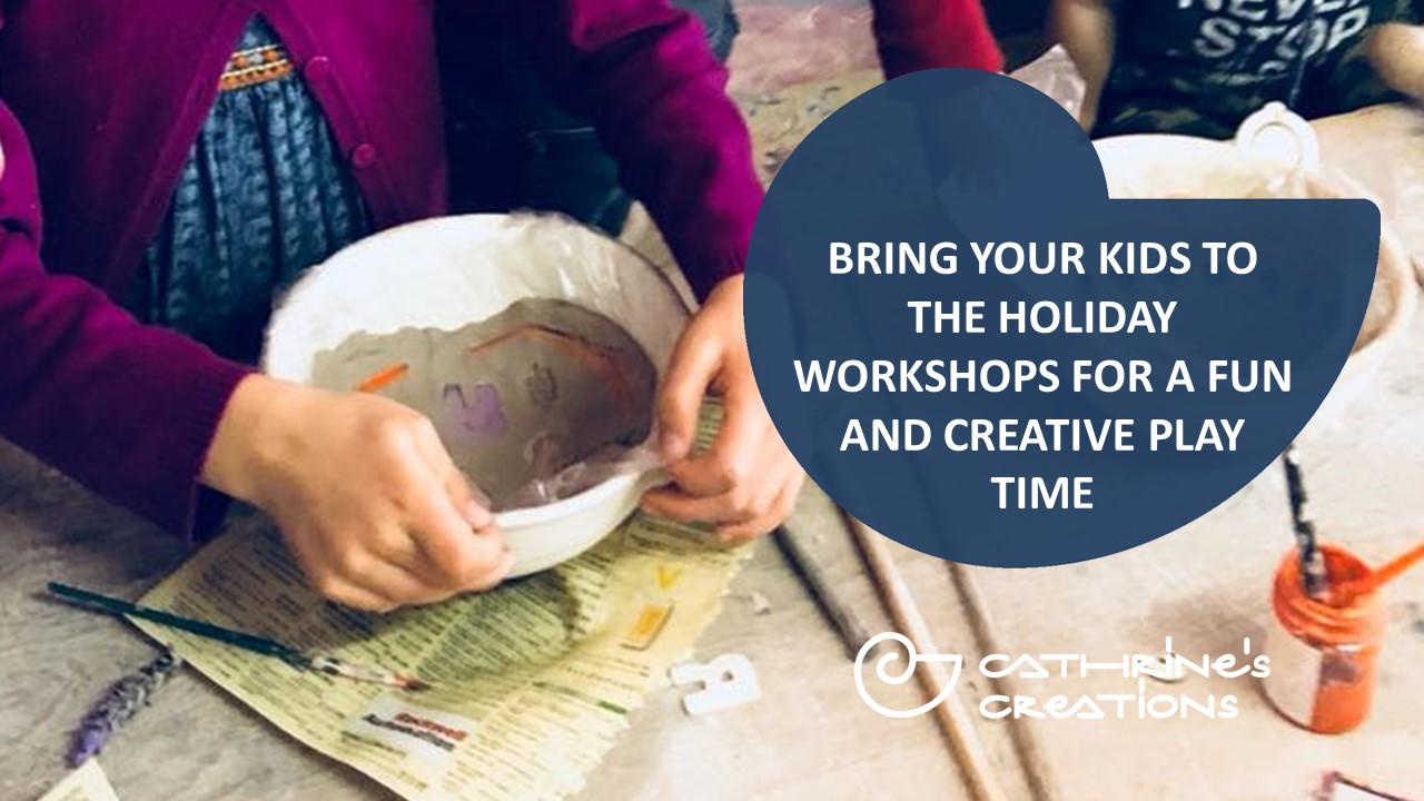 Pottery workshops for kids